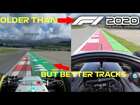 THIS GAME IS OLDER BUT HAS BETTER TRACKS THAN F1 2020!😍 |