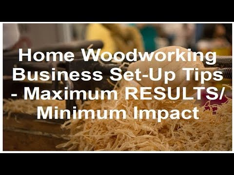 work in your own home Woodworking company arranged approaches for optimum results and minimal affect other people