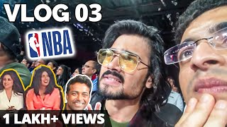 Rs.80,000 की Ticket! NBA India Vlog