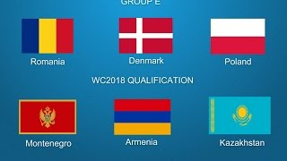 Video FIFA World Cup 2018 Qualifiers Group E European Zone PROMO [HD] download MP3, 3GP, MP4, WEBM, AVI, FLV November 2017