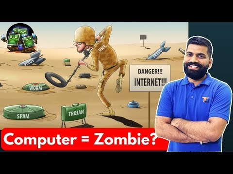 Computer turning Zombies?? Botnet Explained