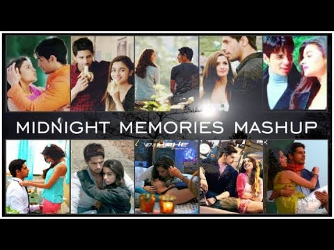 Sidlia and SidShra | VM | Midnight Memories Mashup | Visual | VDJ Mahe |