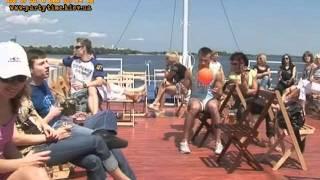 видео корпоратив на теплоходе по Москве-реке