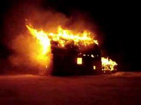 Why does Ab Snopes burn barns? Do you think his actions are justified? What is your reasoning?