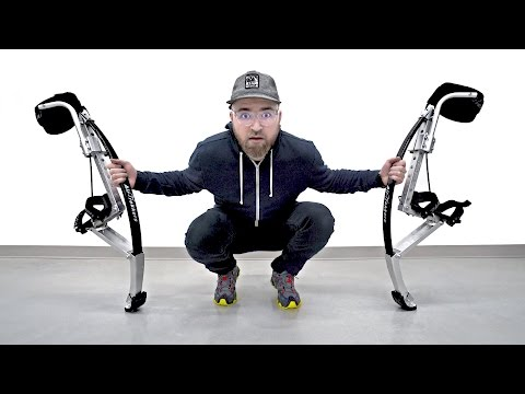 Thumbnail: Testing My New Superhuman Legs