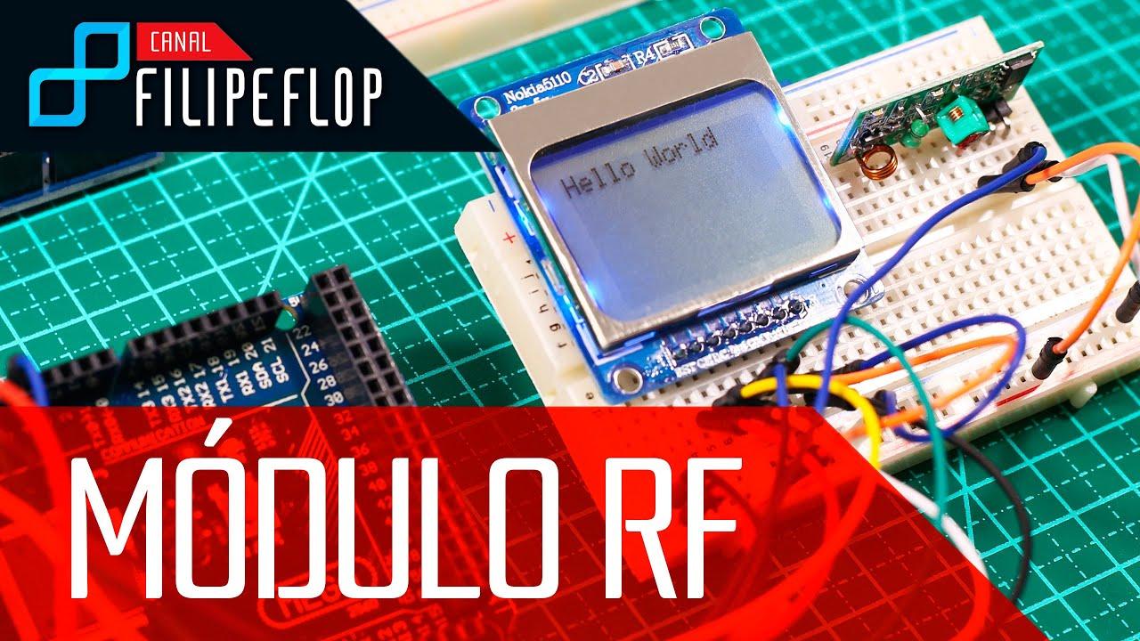 Comunicação Wireless com Módulo RF 433MHz - FilipeFlop