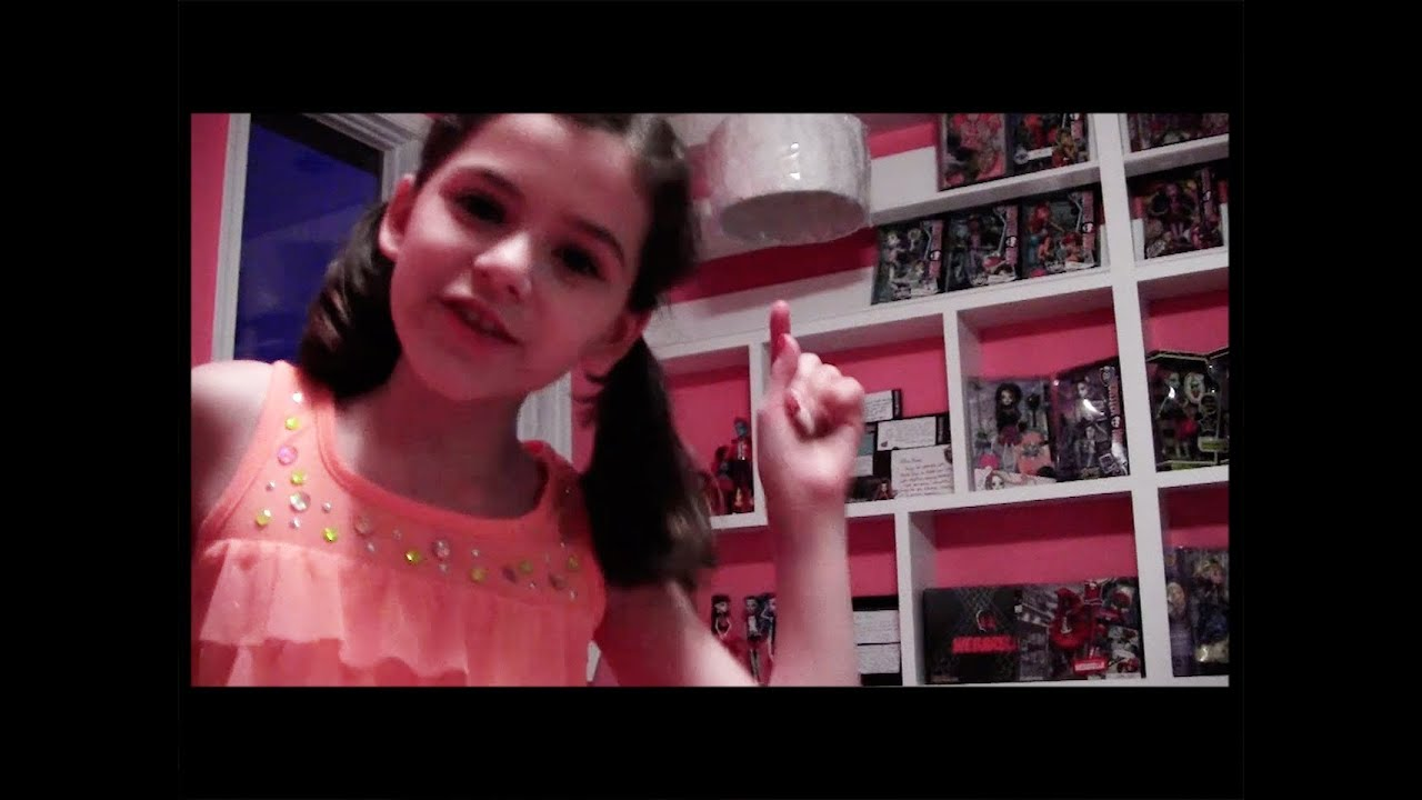 Popular Monster High Doll Collection Display Room Tour KittiesMama YouTube