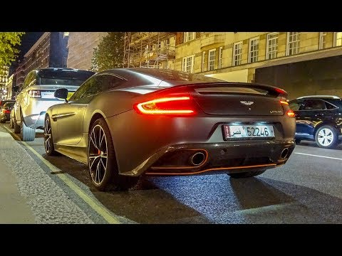 This 2018 Aston Martin Vanquish In London Sounds So GOOD!