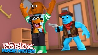 ROBLOX - SHERIFF SHARKY SHOOTS BABY MAX - Little Baby Max Minecraft Games & Gaming