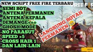 NEW SCRIPT FREE FIRE TERBARU NO TERELIMINASI AUTO KILL+AUTO BOYAH