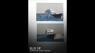 [SOLD] Used 1986 Ellis 28 Sport Fly Bridge in Hampstead, North Carolina
