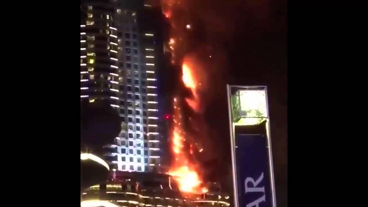 عاجل برج خليفة يحترق Youtube
