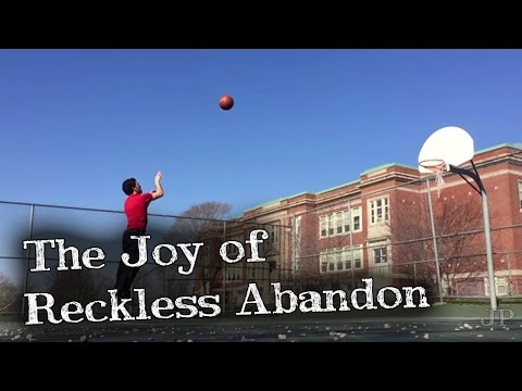 The Joy of Reckless Abandon - Sucking at Sports