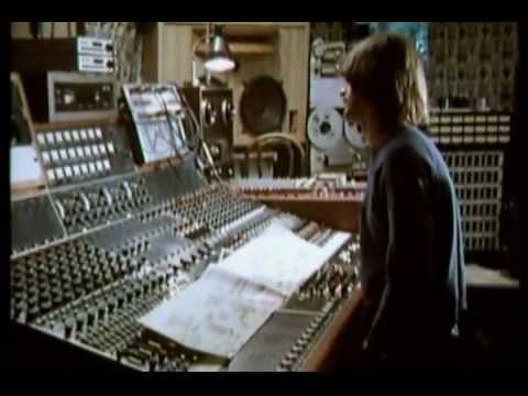 Mike Oldfield talks in the studio mixing Ommadawn