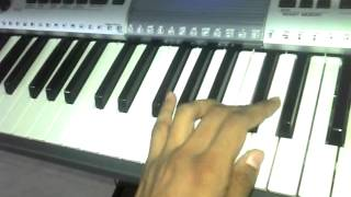 Chhelaji re (Gujarati Garba Song) on keyboard by naitiknakrani