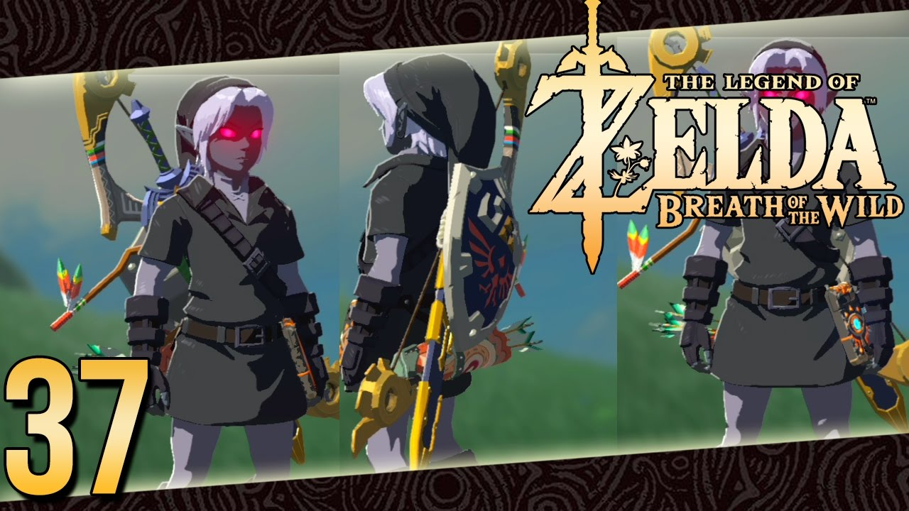 Zelda Breath Of The Wild Parte 37 Español Tunica Dark Link
