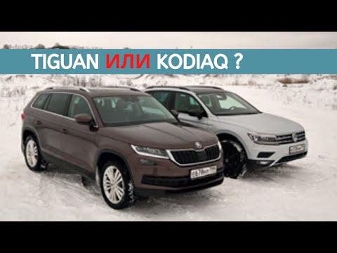 Volkswagen Tiguan или Skoda Kodiaq? Братобойня в немецком порядке