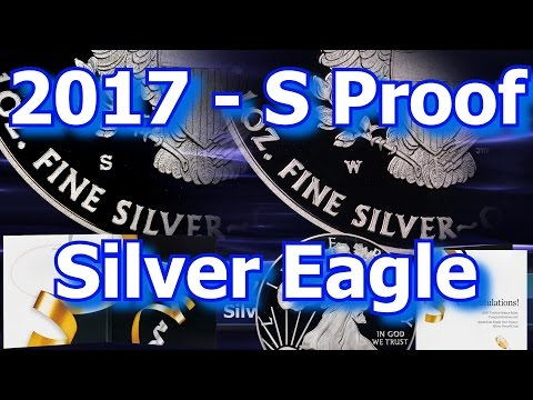 """2017 """"S"""" Silver Eagle Included in US Mint Congratulations Set"""