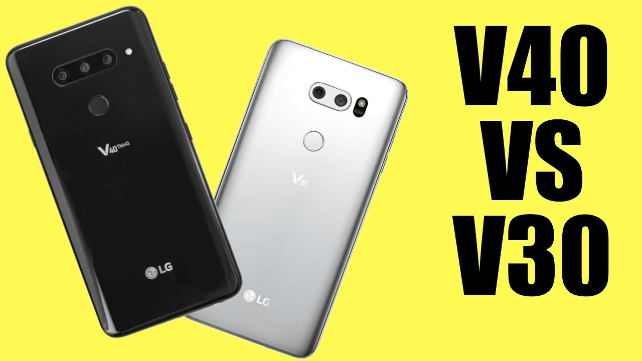 LG V40 vs LG V30: Let's chat about a one-year upgrade