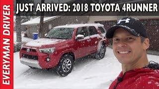 Just Arrived: 2018 Toyota 4Runner TRD Off-Road on Everyman Driver