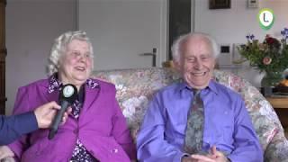 Echtpaar Boerman Wolff 70 jaar getrouwd