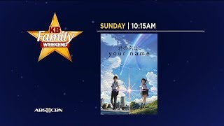 "ABS-CBN: ""Your Name."" - 60-second Promo"