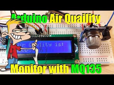 Arduino Air Quality Monitor with MQ135