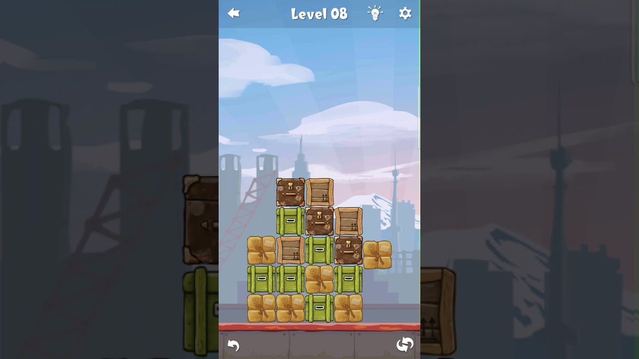 A very challenging puzzle game