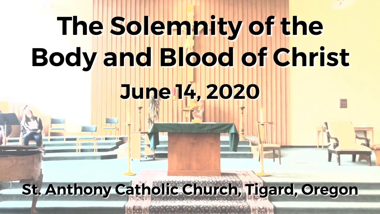 Rebroadcast_Solemnity of the Body and Blood of Christ Mass