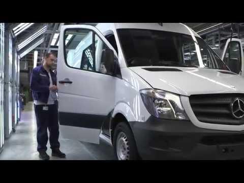 #11 2015 Mercedes Benz Sprinter Production Производство Мерседеса Спринтер 2015