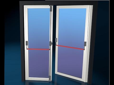 Porta d 39 ingresso con maniglione antipanico porta d - Maniglia porta ingresso ...