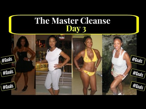 Master Cleanse day 3           Pounds Down!