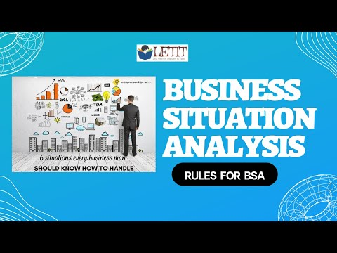 TANCET MBA CLASS 47 BUSINESS SITUATION ANALYSIS