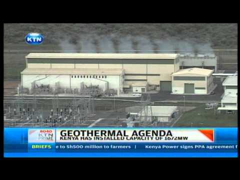 A new geothermal plant  in Mt Longonot