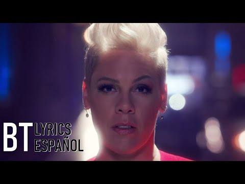 P!nk - Walk Me Home (Lyrics + Español) Video Official