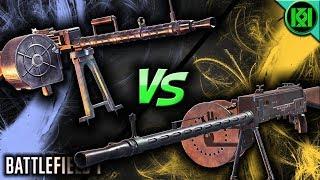 lMG 08/18 vs. PARABELLUM MG14/17 🔥 Which is Best? ~ Battlefield 1 Guns (BF1)