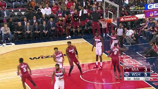 1st Quarter, One Box Video: Washington Wizards vs. Miami Heat