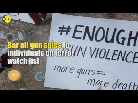 US Senators reject gun control measures