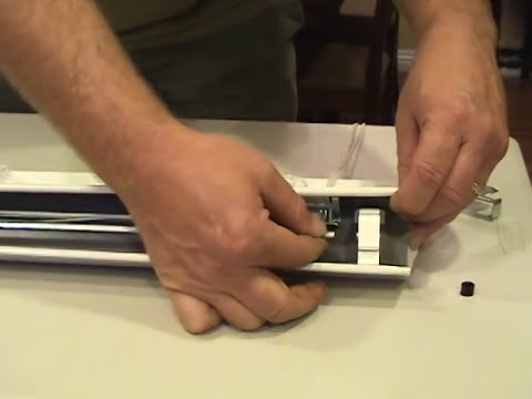 Blind repair replace broken tilter