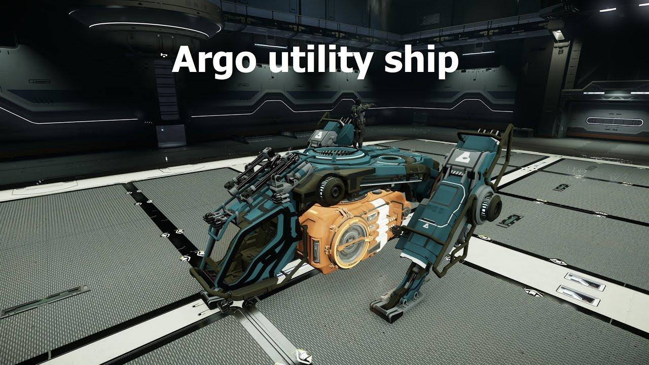 Star Citizen Argo Utility Craft YouTube