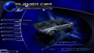 Need for Speed III: Hot Pursuit - Menu Tour