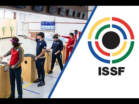 10m Air Pistol Mixed Team Final - 2018 ISSF World Cup Stage 3 in Fort Benning (USA)