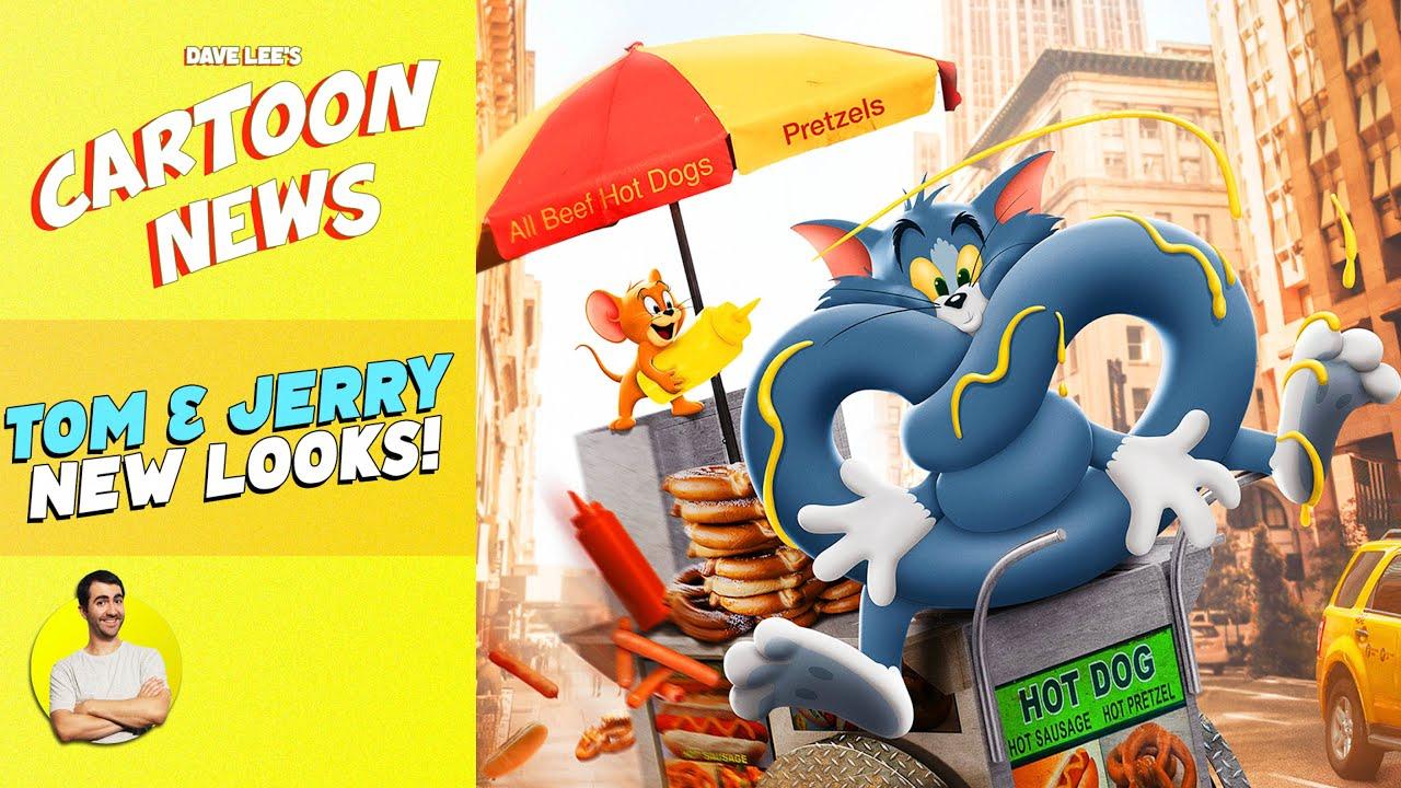 New TOM & JERRY Movie Posters Revealed & Explained!   CARTOON NEWS