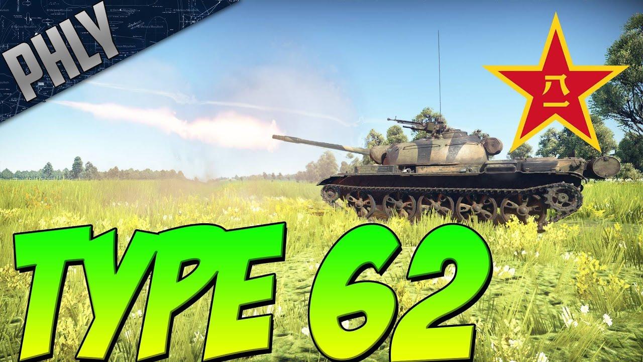 War thunder t 62 gameplay