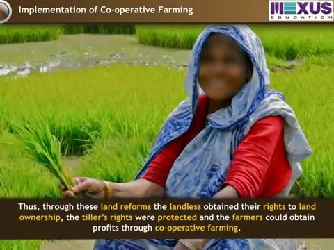 Land Reforms in Karnataka - (Social Science) - Iken School - (English audio)