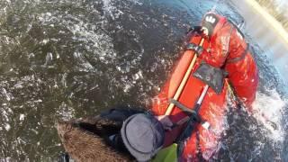 Kalamehe päästmine Harku järvelt 23.03.2017