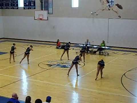 Karnes City High School Twirlers State Ensemble 2012
