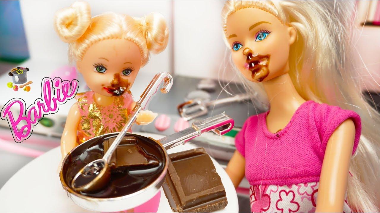 Barbie Masak Masakan Mainan Masak Masakan Mainan Anak Perempuan Masak Masakan Youtube