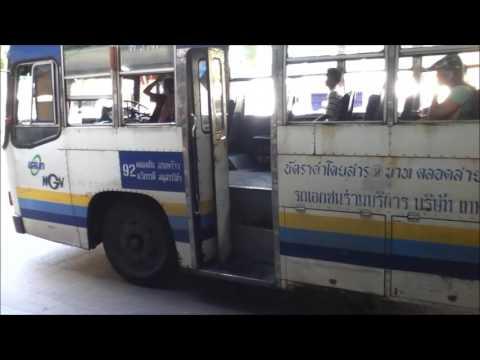 Taking a Bus in Bangkok