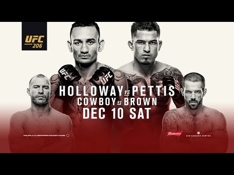 UFC 206: Holloway vs Pettis